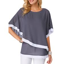 <b>S 5XL</b> Plus Size Chiffon <b>Blouse Shirt Women</b> 2019 New <b>Summer</b> ...