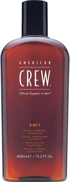 <b>American Crew 3-In-1</b> Shampoo, Conditioner and Body Wash | Ulta ...