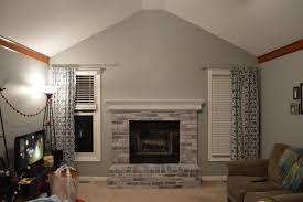 living room design fireplace tv