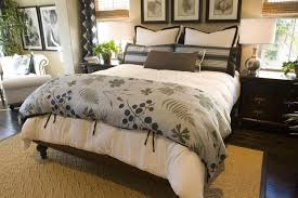 wood bedroom decor ideas nature focused blanket in this cozy bedroom complements the plant life