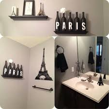 themed home decor bathroom theme ideas to spruce up my paris themed bathroom decora