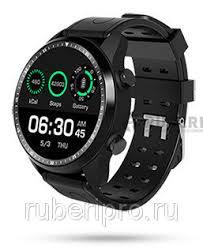 Смарт <b>часы kingwear kc06</b> черные, цена 10 600 руб., купить в ...