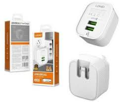 Ldnio <b>A201</b> - Universal Travel Charger - 2.4A Dual <b>USB</b> Ports with ...