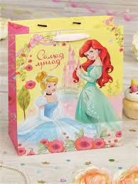 <b>Пакет подарочный</b>, <b>Принцессы Disney</b> 8051947 в интернет ...