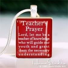 Teacher Prayer on Pinterest | Secondary Math, Teacher Quotes and ...