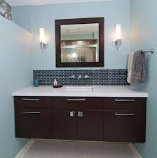 view in gallery dark floating cabinet with a white countertop and an undermount sink bathroom furniture designs