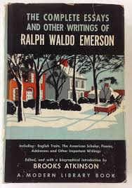 ralph waldo emerson complete essays and other writings modern ralph waldo emerson complete essays and other writings modern library 91 hcdj