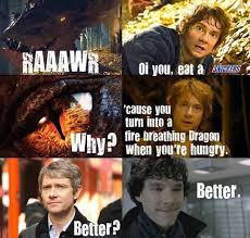 Eat a Snickers Sherlock... - The Meta Picture via Relatably.com