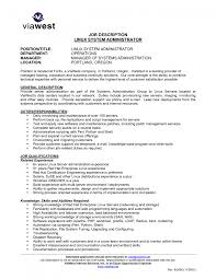 cover letter network security administrator job description cover letter wireless engineer resume network template word excel pdf system administrator job description sle linux