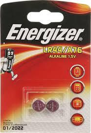 "<b>Батарейка Energizer</b> ""<b>Alkaline</b>"", тип <b>LR44</b>/<b>A76</b>, 1,5V, 2 шт ..."