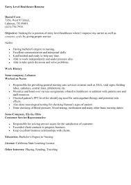 entry level resume example sample resume for entry level job resume example entry level