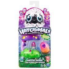 Купить <b>игровой набор Hatchimals</b> Домик-гнездо со светом лес ...