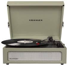 Виниловый <b>проигрыватель Crosley Voyager</b> CR8017A — купить ...