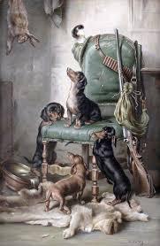 Картинки для декупажа | Щенки <b>таксы</b>, Собачки, Охотничьи собаки