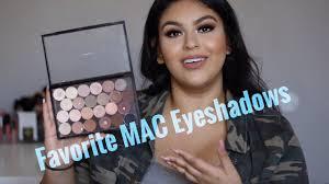 My Favorite <b>MAC</b> Eyeshadows | Most Used - YouTube
