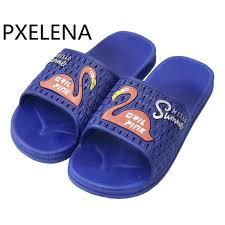 PXELENA Flamingo Animal <b>Men Slippers Summer Flat</b> Home ...