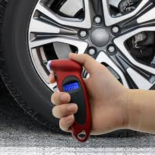Digital <b>Tire Pressure Gauge</b> Meter Car Tire Diagnostic <b>0-150</b> PSI ...