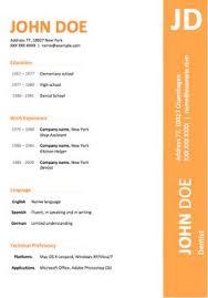�  instant download �  professional resume   cv template design    modern orange color resume template microsoft word