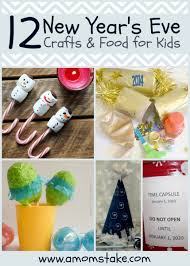 New Year Craft Ideas New Year S Eve Activities Kids A Mom Take