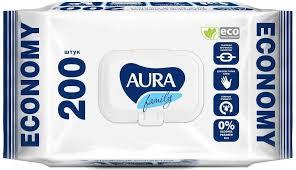 Купить <b>Влажные салфетки Aura</b> Family Big-pack для всей семьи с ...