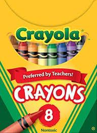 Crayola Classic Color Pack Crayons, Tuck Box, 8 ... - Amazon.com