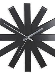 <b>Часы настенные ribbon чёрныe</b> - цена 4 900 руб, купить в ...