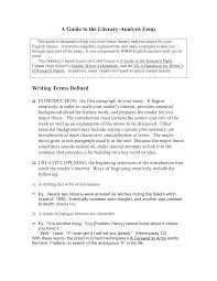 academic essay writing structure