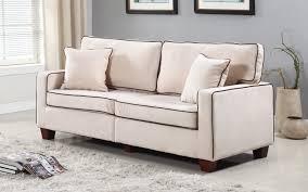 Two Loveseat Living Room Modern Two Tone Velvet Fabric Living Room Love Seat Sofa Walmartcom