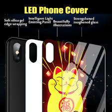 China Colorful <b>Luminous Intelligent Voice</b> Control Mobile Phone ...