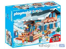 <b>Конструктор Playmobil Family</b> Fun 9280 Лыжная база за 7100.00 ...