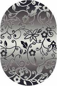 Овальный <b>ковер Silver d214</b>-<b>gray</b> Merinos Россия— купить в ...