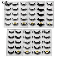<b>SHIDISHANGPIN mink eyelashes</b> natural long false <b>eyelashes</b> strip ...