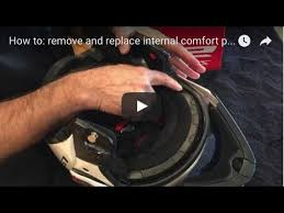 How to: remove and replace internal comfort padding on LS2 Metro ...