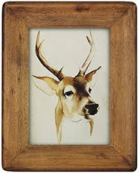 icheesday Picture Photo Frame 5x7,Rustic Pine <b>Wood</b> Frame 5 by <b>7</b> ...