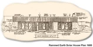 Rammed Earth Solar House Plan   Affordable rammed earth solar    Two bedroom rammed earth solar house plan Scroll down to add