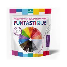 """""""<b>FUNTASTIQUE</b>"""" <b>Комплект PLA</b>-<b>пластика</b> для 3д ручек 10 цветов ..."""