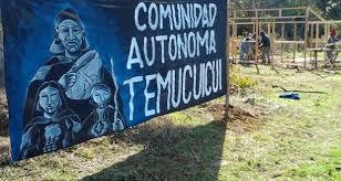 Resultado de imagen de protesta temucuicui