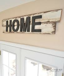 wood sign glass decor wooden kitchen wall: diy rustic home sign  diy rustic home sign