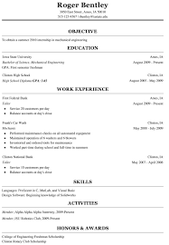 cv examples engineering graduate resume builder