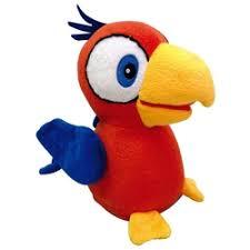 <b>Интерактивная игрушка IMC</b> TOYS 95076 Попугай Charlie красный