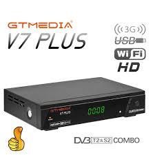 H.265 <b>GTMEDIA V7 PLUS</b> Satellite TV Combo <b>Receiver</b> DVB-T2 ...