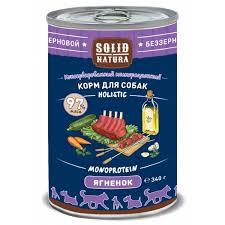 <b>Solid Natura Holistic</b> - <b>монобелковый</b> корм с ягненком для собак ...
