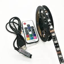 Buy <b>ZDM 5V 15</b> - 30W 5050 100 / 200CM USB Waterproof RGB LED ...