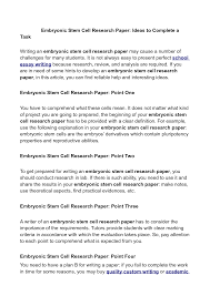 essay on stem cell research   porza resume  created by natureessays on stem cell research best writing website for economics
