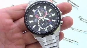 <b>Часы Casio</b> EDIFICE <b>EFR</b>-<b>550D</b>-<b>1A</b> [EFR-550D-1AVEF] - видео ...