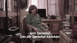 Han gör en kärleksdokumentär om Aleksijevitj | SVT Nyheter