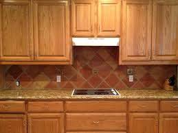 Terra Cotta Tile In Kitchen Mexican Saltillo Tiles Backsplash 8x8 Saltillo Tile In Terra