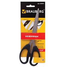"<b>Ножницы</b> 175 мм <b>BRAUBERG</b> ""<b>Classic</b>"", классич.формы, чёрные ..."