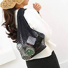 ellaroom Smart Large <b>Mesh Shopping Bag Durable</b> Reusable Fruit ...