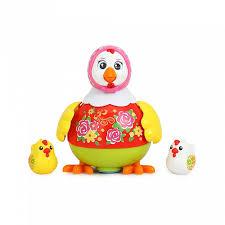 Купить <b>игрушку Huile Toys</b> Танцующая Курочка в интернет ...